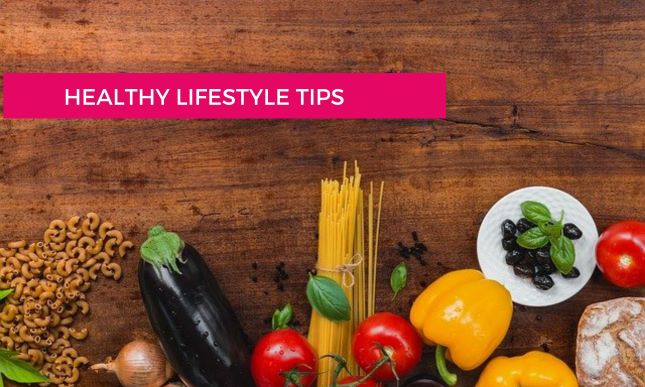 Manage healthy lifestyle tips