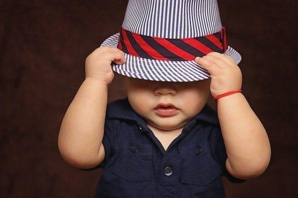 Baby Boy with stylish looks