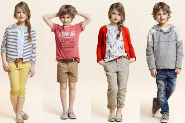 Kids fashion and store